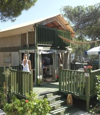 Glamping Sardinie | Lodge Tent Airsuite